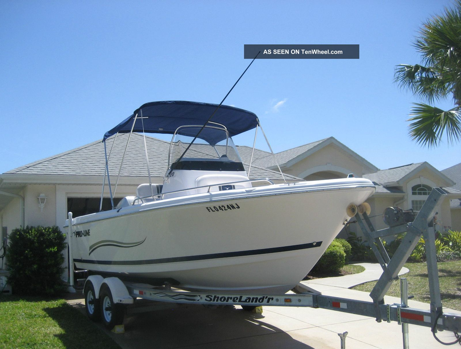 2007 Pro - Line 20 Sport Offshore Saltwater Fishing photo
