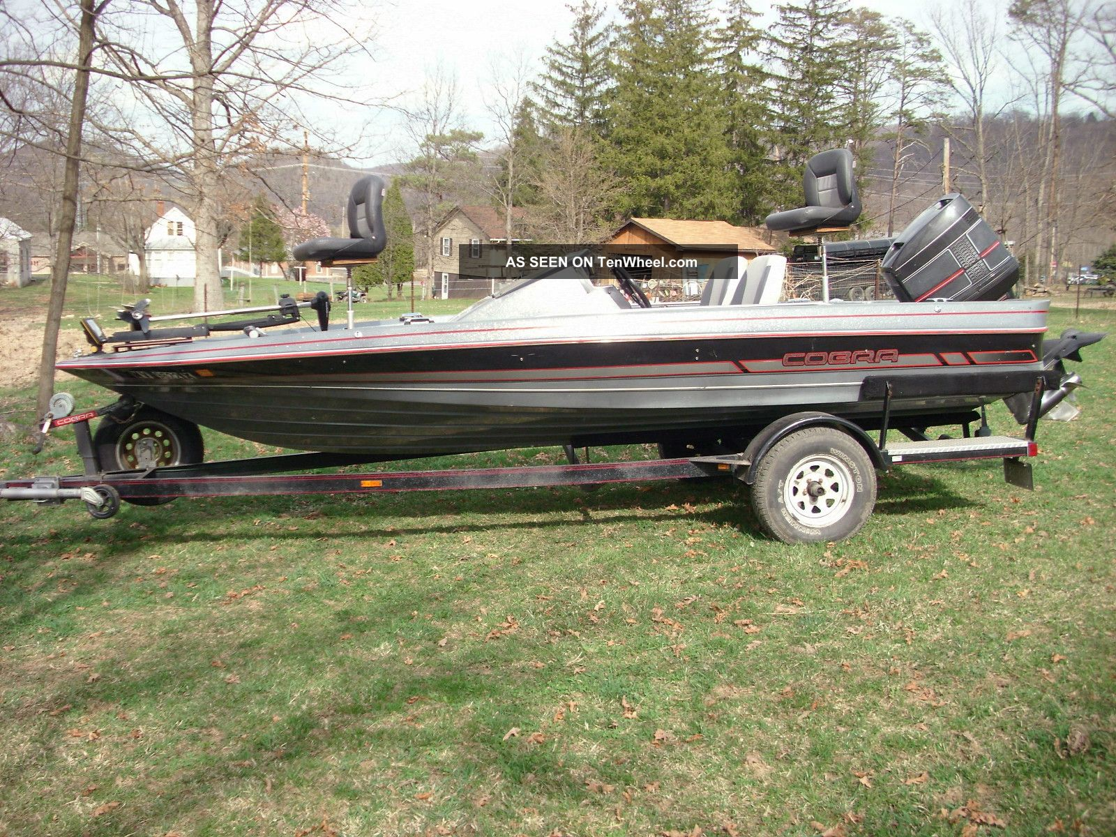 1991 Bayliner 1903 Cobra Bass Fishing Boats photo