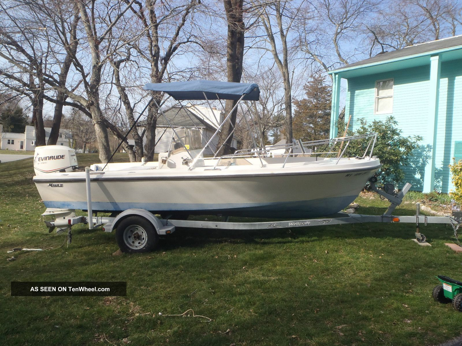 1973 Mako 19 Mako Inshore Saltwater Fishing photo