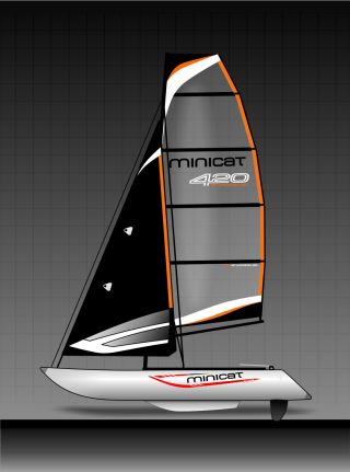 2013 Hobie Cat Minicat 420 Evoque photo