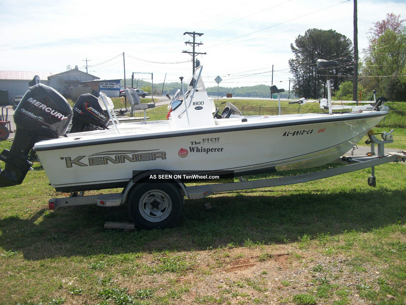 2008 Kenner 1800 Vision Inshore Saltwater Fishing photo
