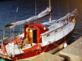 1985 Joel White Built To Cy Hamlin Design Blue Water Cutter photo