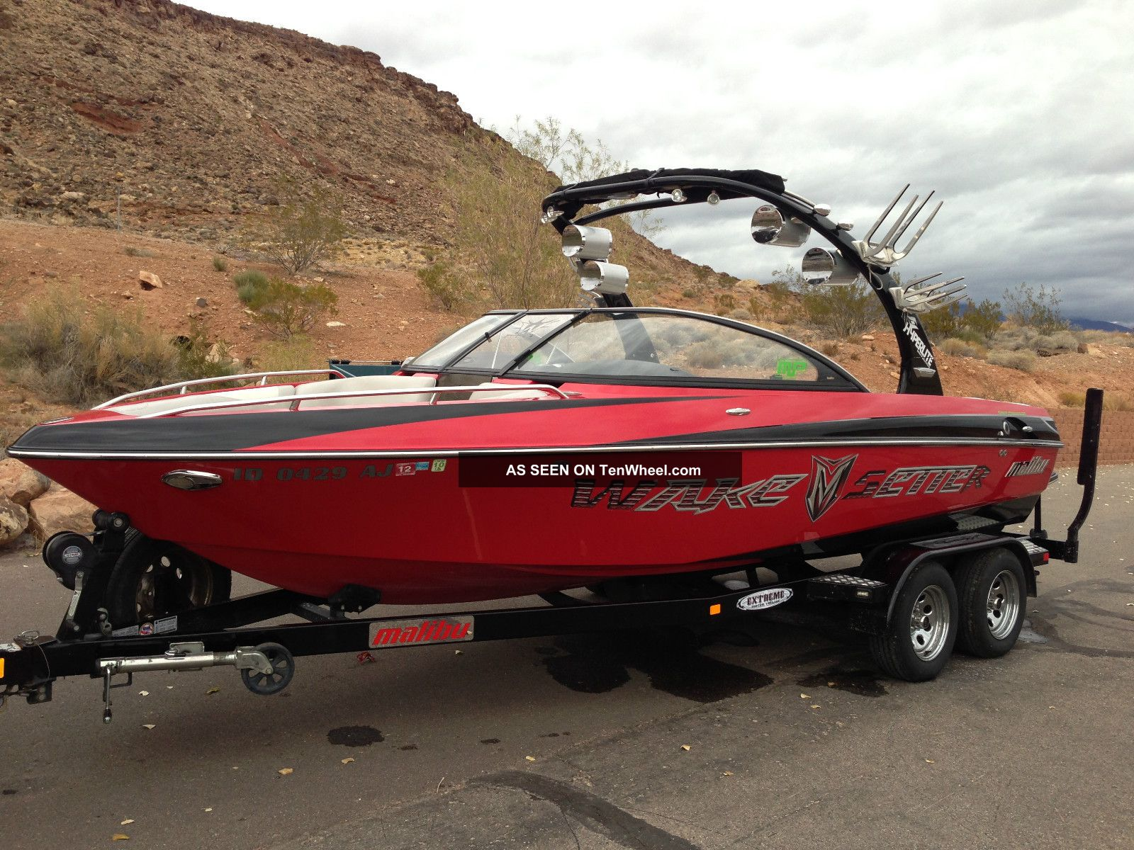 2008 Malibu Wakesetter Vlx Ski / Wakeboarding Boats photo