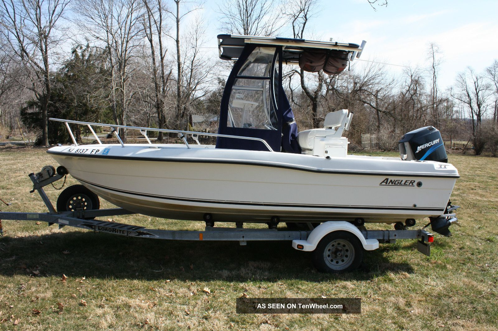 2001 angler boat 18f center console for Angler fishing boat