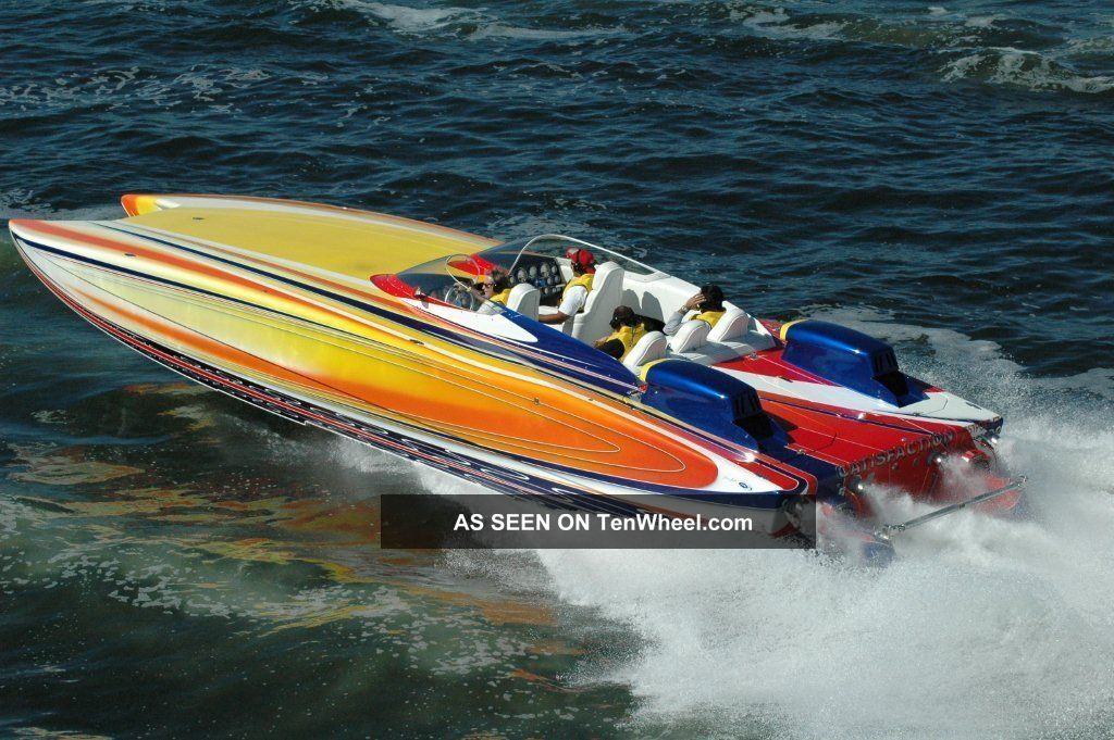 2004 Douglas Marine 36.  Flat Deck Other Powerboats photo