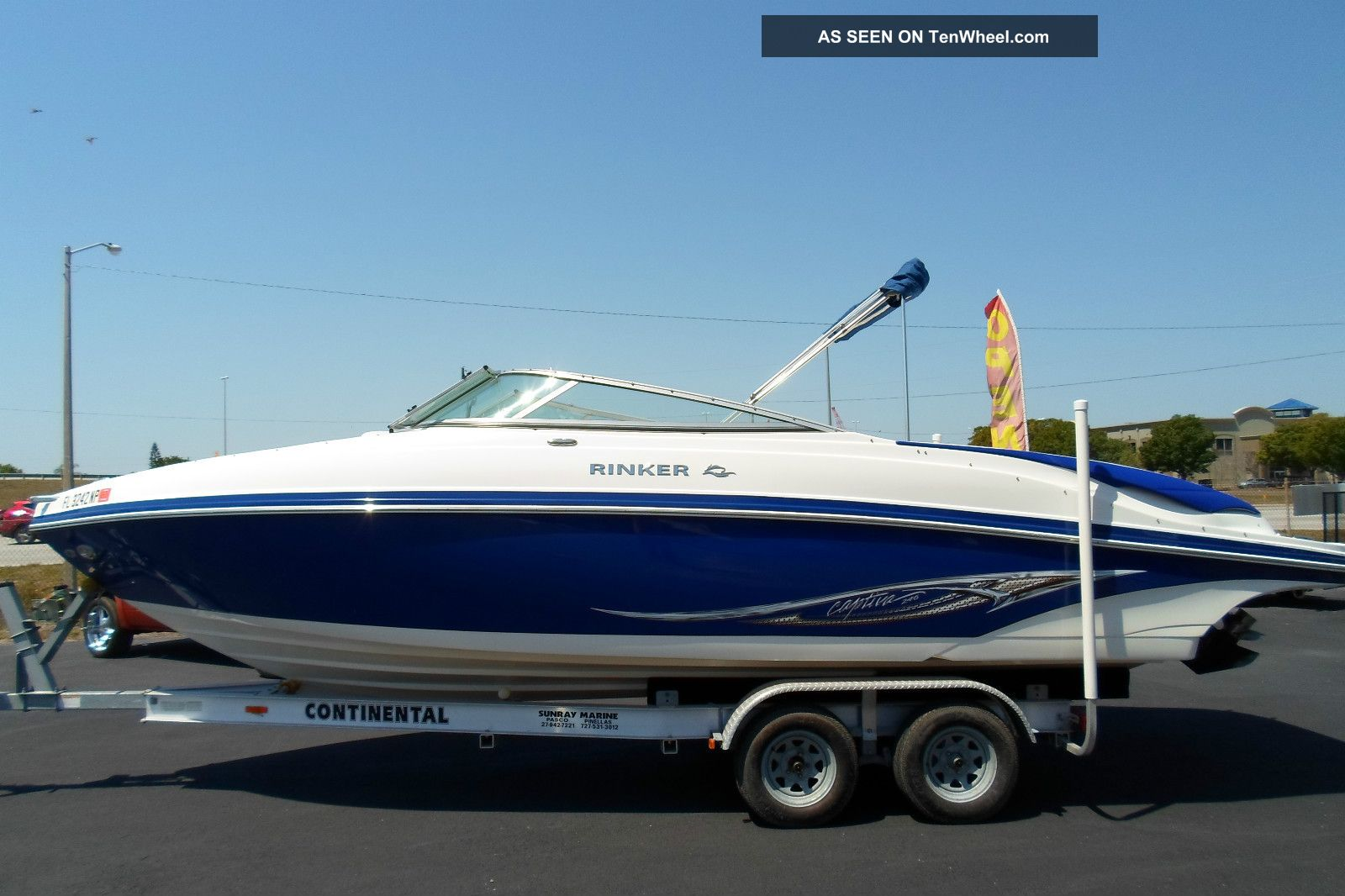 2008 Rinker Captiva Cruisers photo