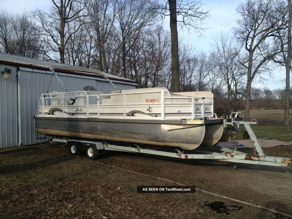 2000 Jc Pontoon / Deck Boats photo