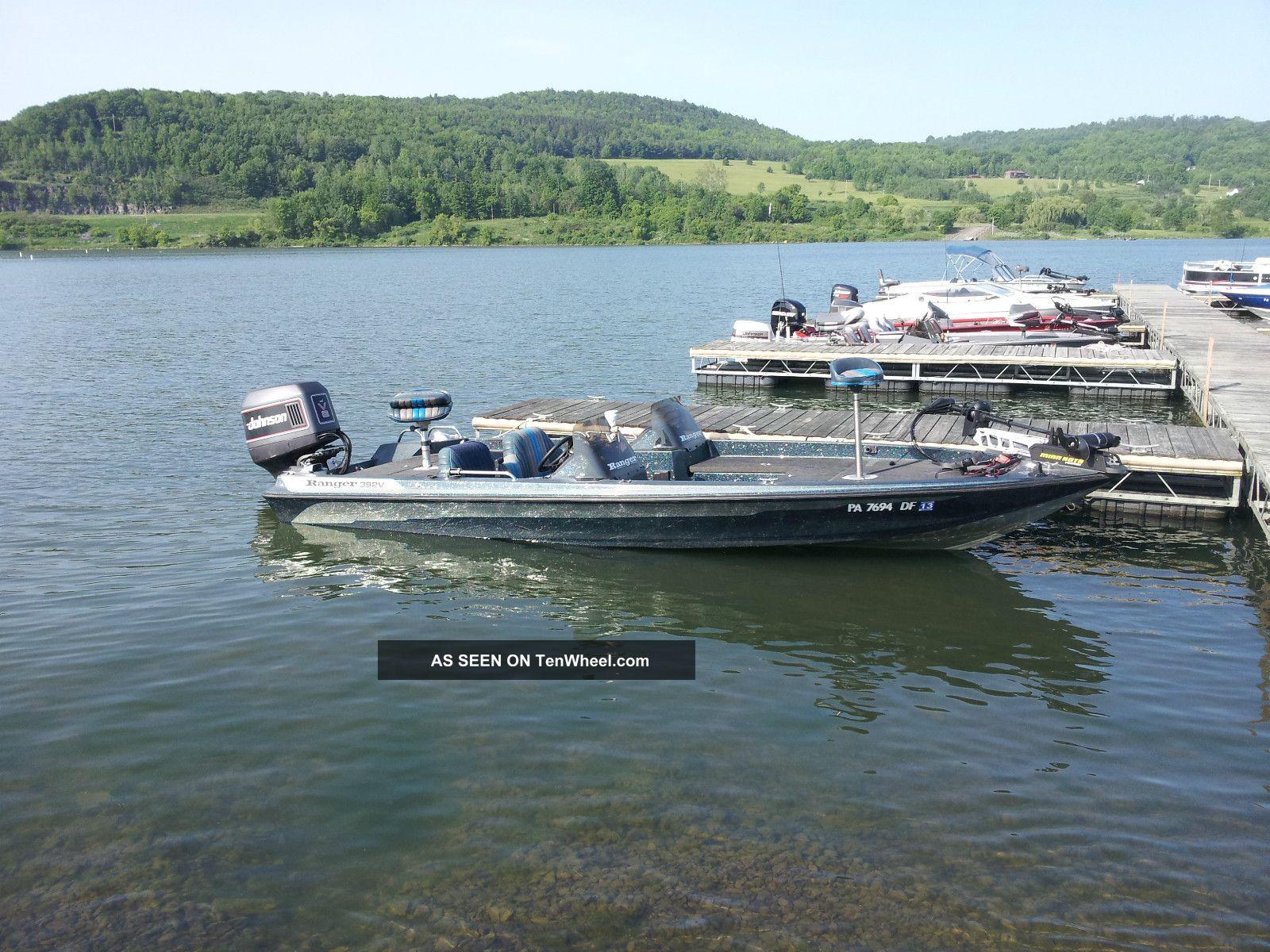 1994 Ranger 392v Bass Fishing Boats photo