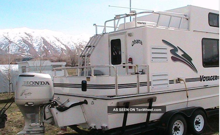2001 Nomad Voyager Houseboat Nomad Voyager Houseboat Pontoon / Deck Boats photo