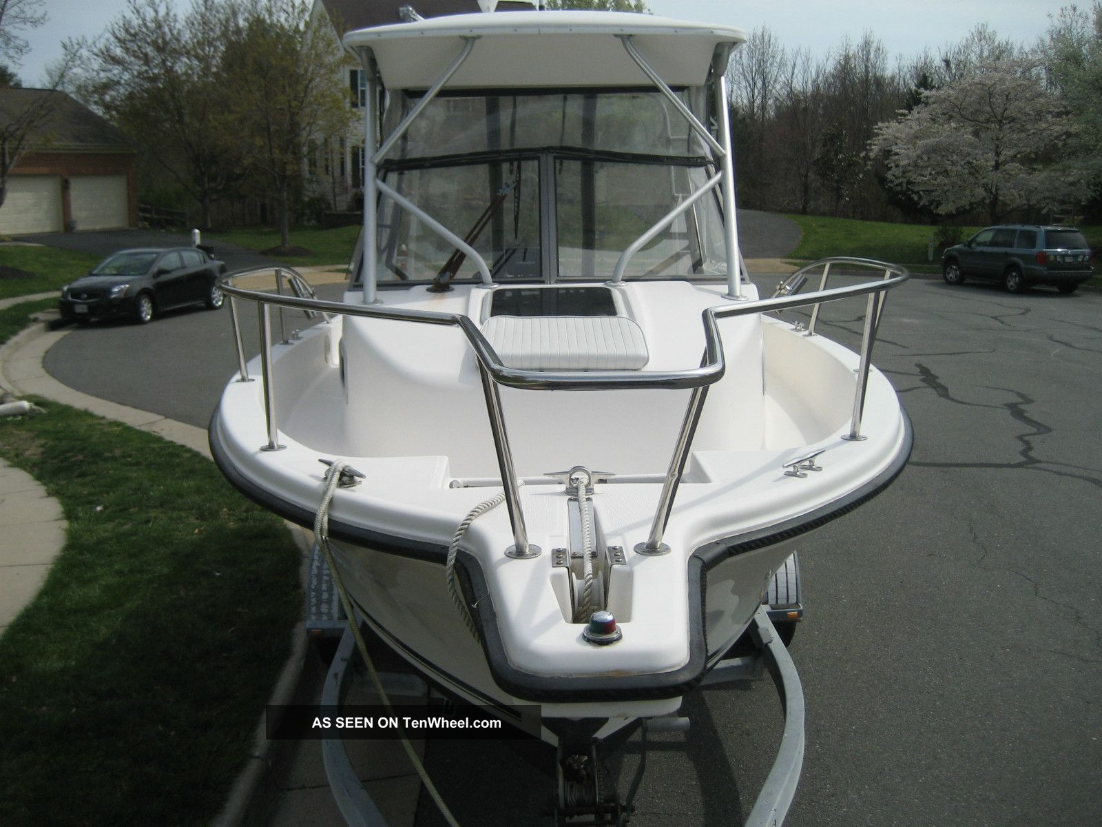 1997 Robalo 23 Ft Walkaround Center Console Offshore Saltwater Fishing photo