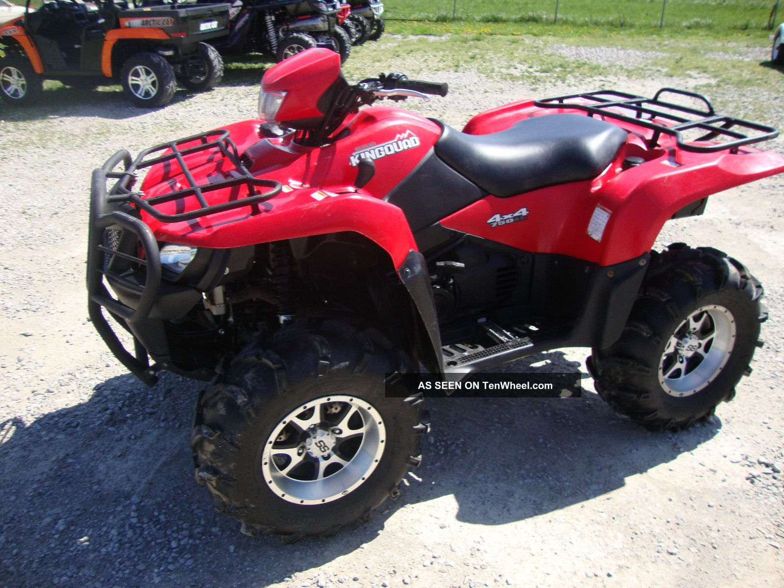 2008 Suzuki King Quad Lt - A - 750axi