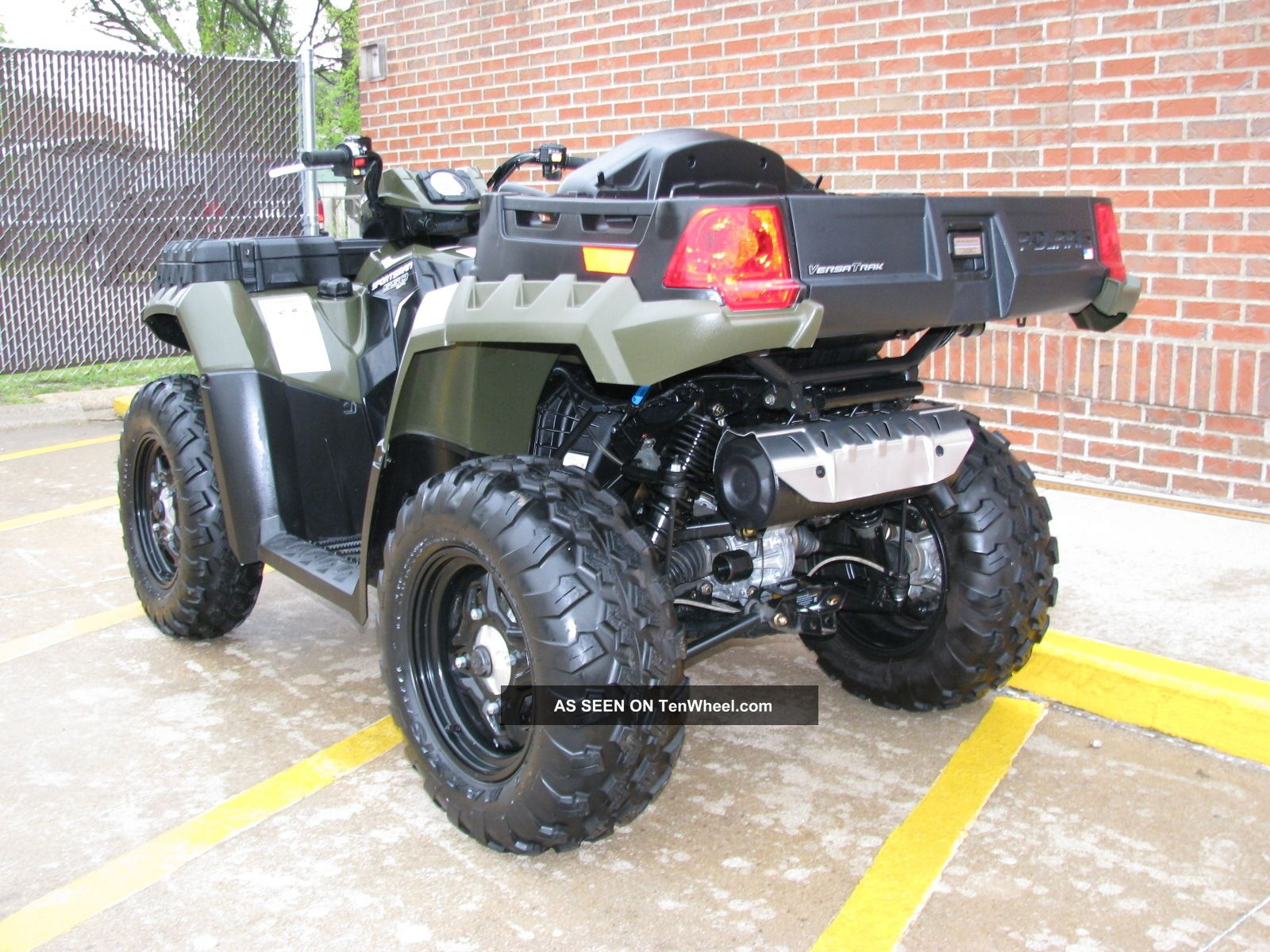 2011 Polaris Sportsman 550 X2