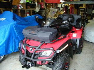 2012 Bombardier Outlander Max Xt 800 Refi photo