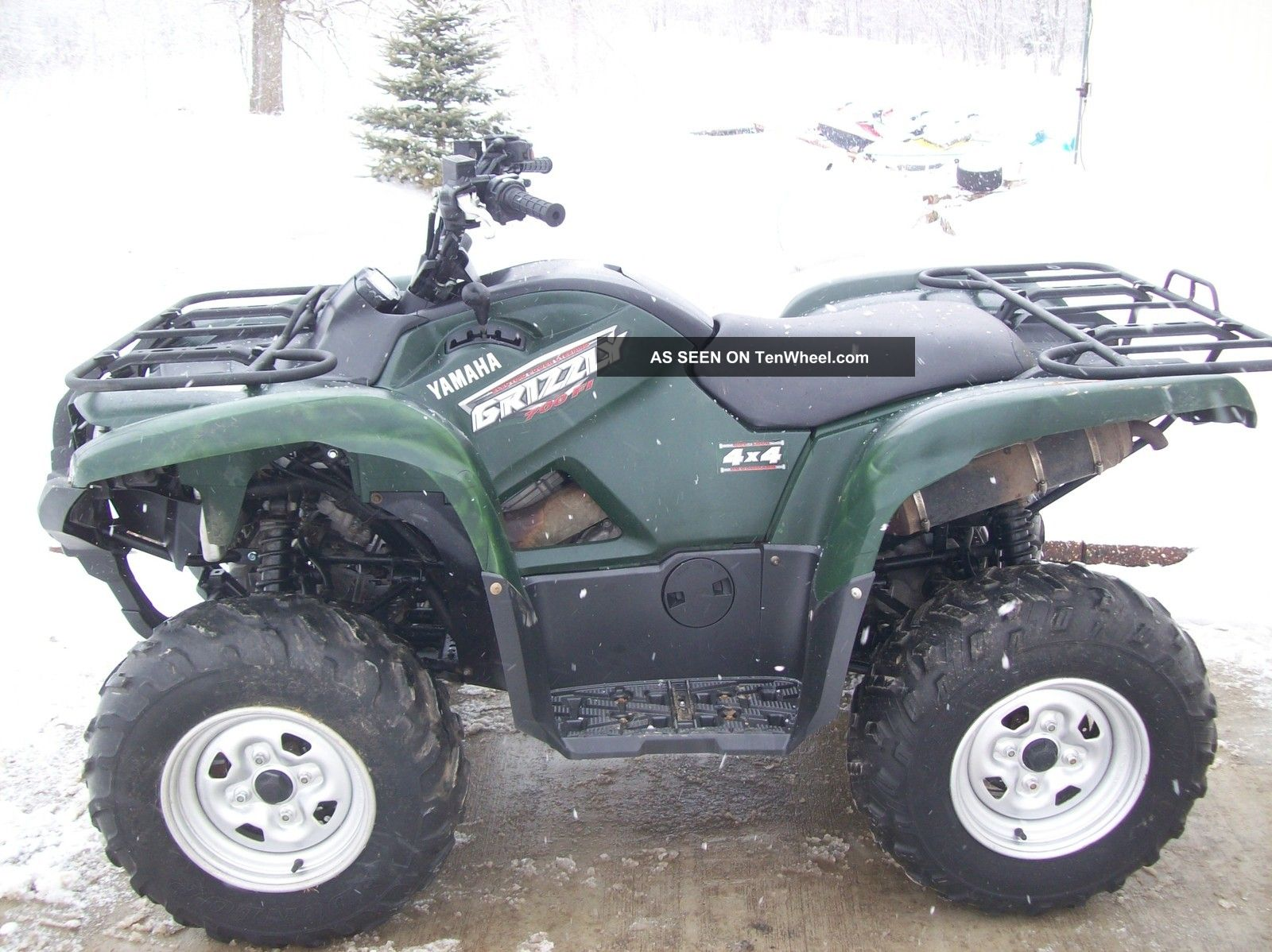 Yamaha utility atvs autos post for 2009 yamaha grizzly 450 value