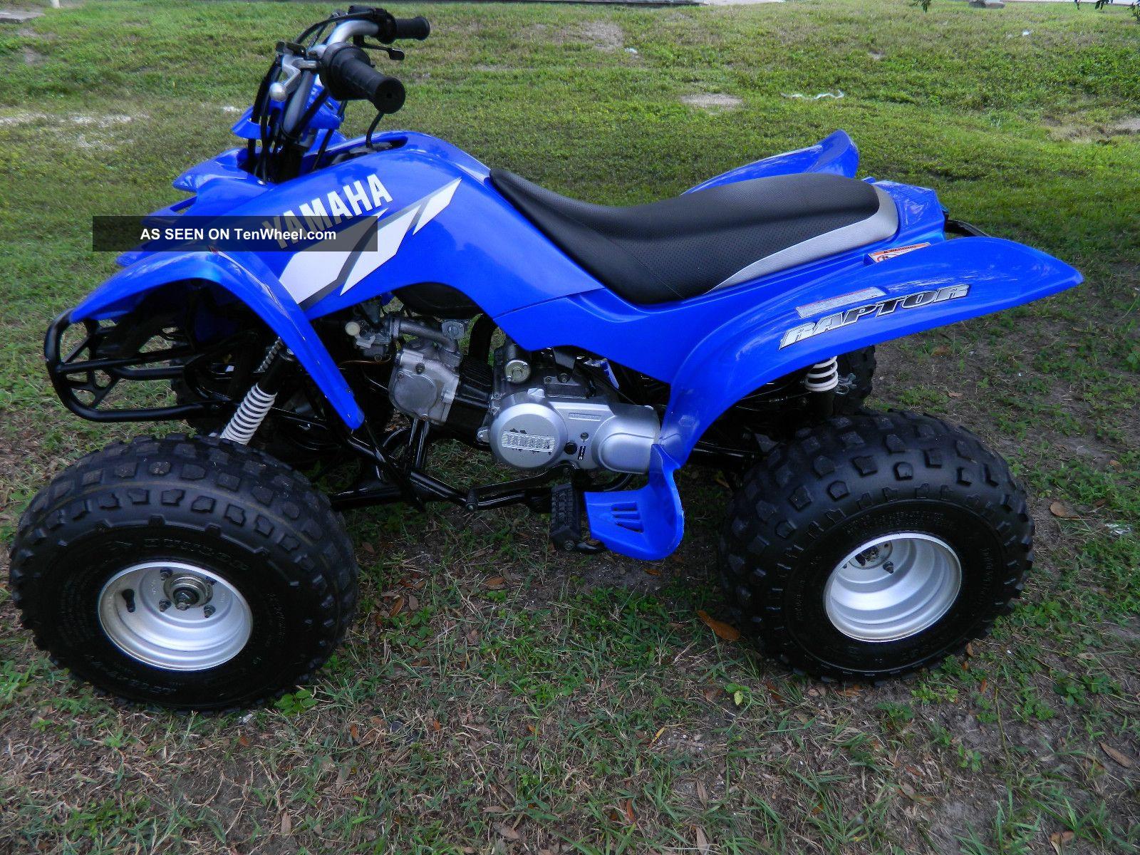 2007 Yamaha Raptor 80