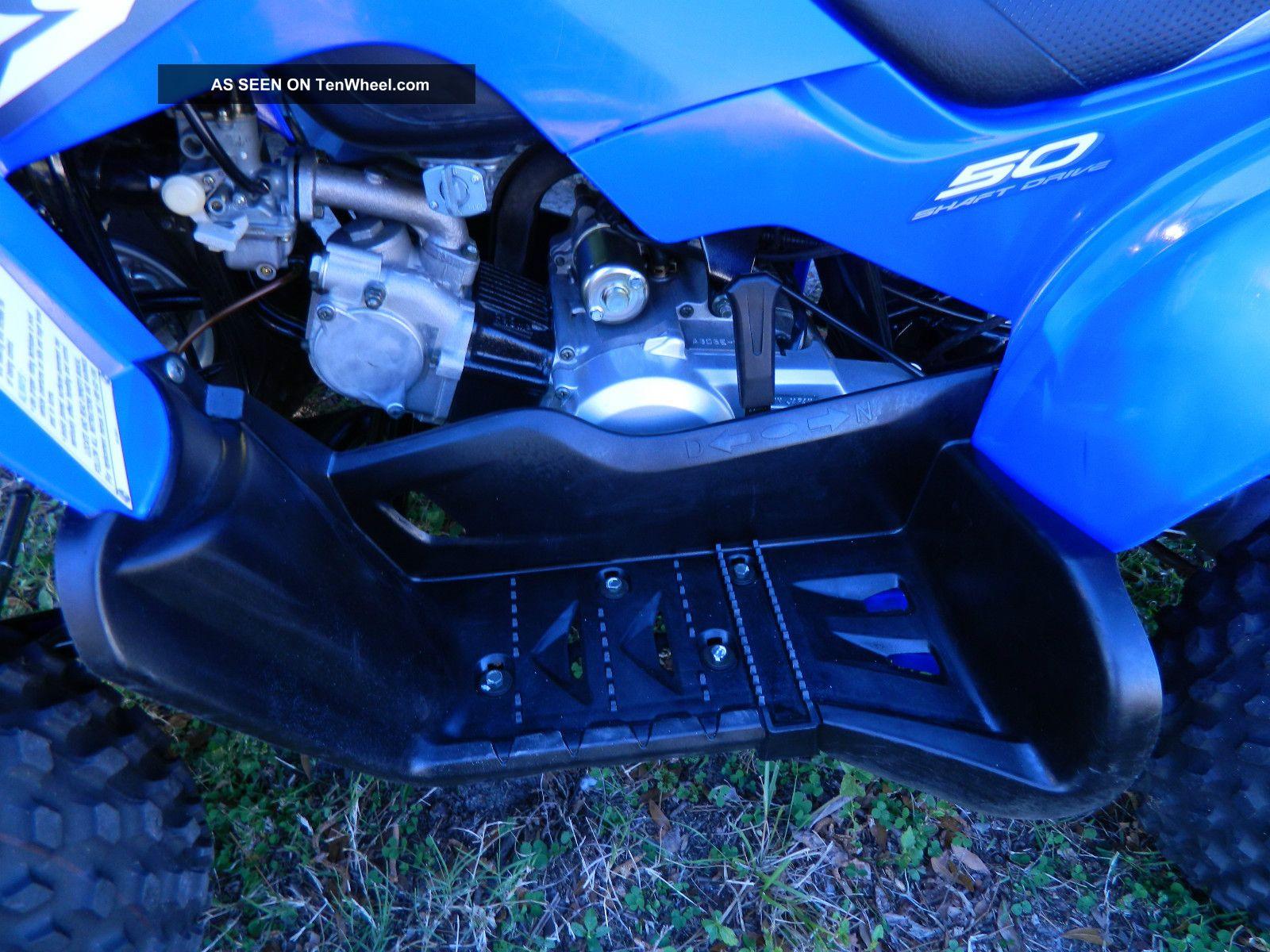 2007 yamaha raptor 50 automatic runs perfect shaft drive. Black Bedroom Furniture Sets. Home Design Ideas