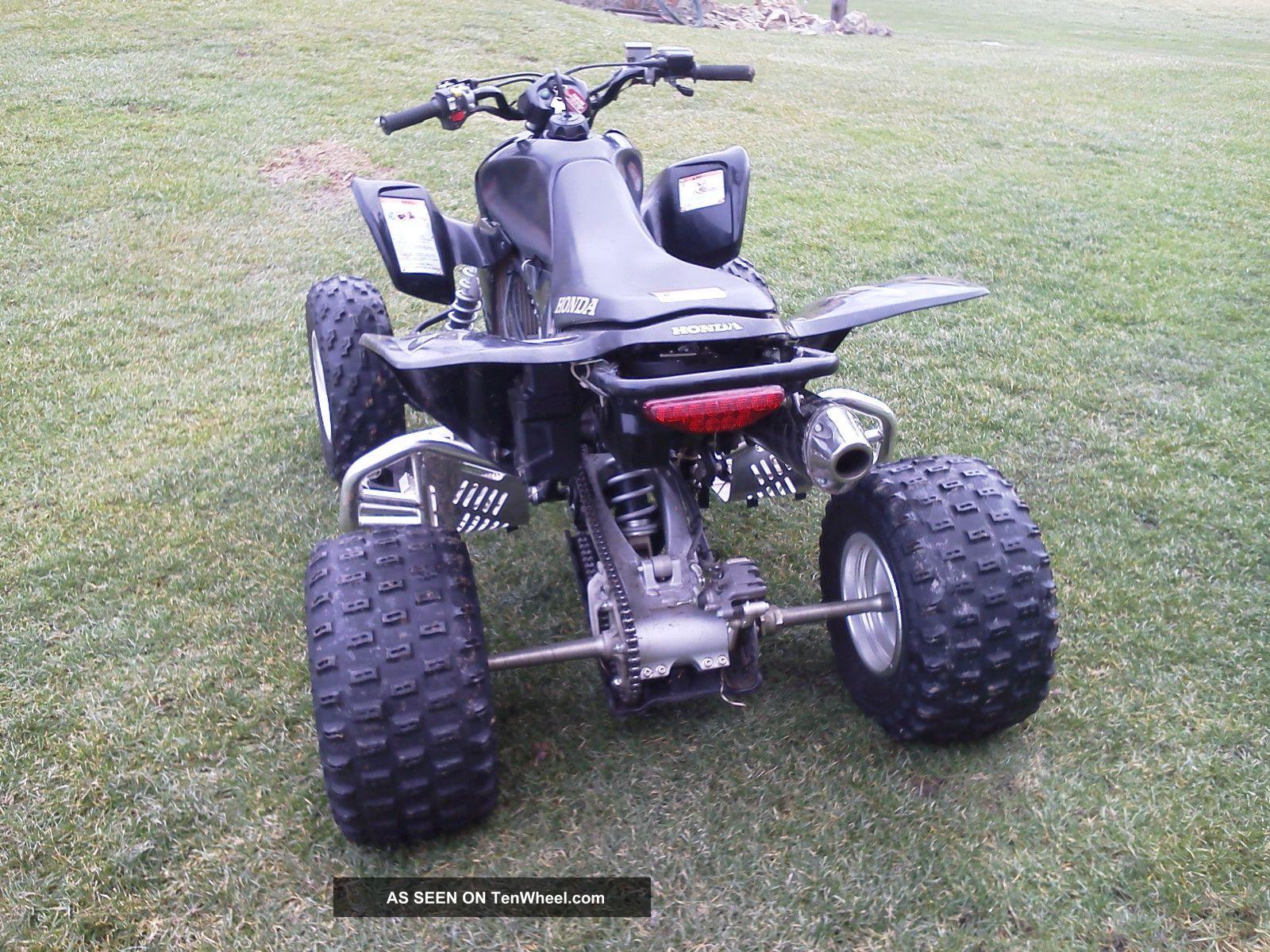 2008 honda trx450r special edition