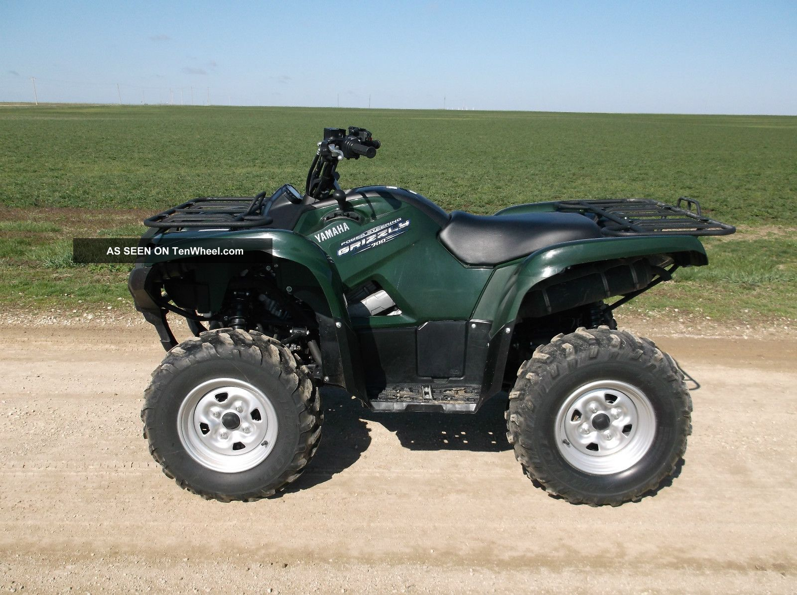 2011 yamaha grizzly for Yamaha grizzly 800