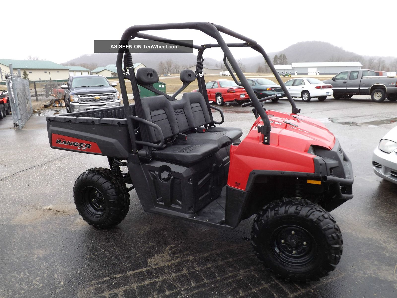 2012 polaris ranger 800 efi 4x4 utvs photo
