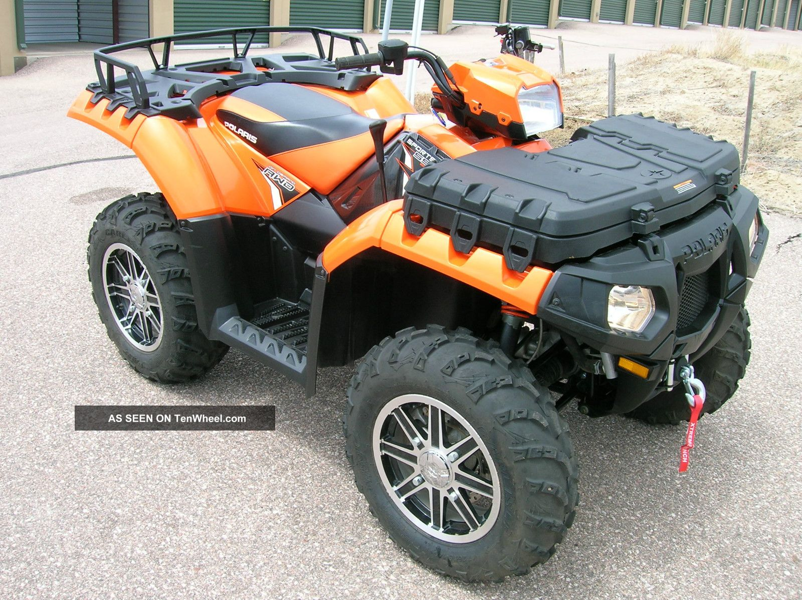2012 Polaris Sportsman 550 Limited Edition Power Steering Nr