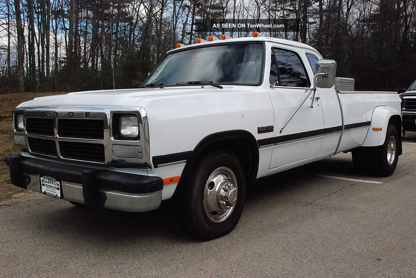 1993 dodge ram d350 extended cab 2wd dually pickup with cummins 12v turbo diesel. Black Bedroom Furniture Sets. Home Design Ideas