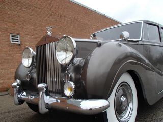 1955 Rolls - Royce Silver Wraith 7 Passanger Limousine With Division photo