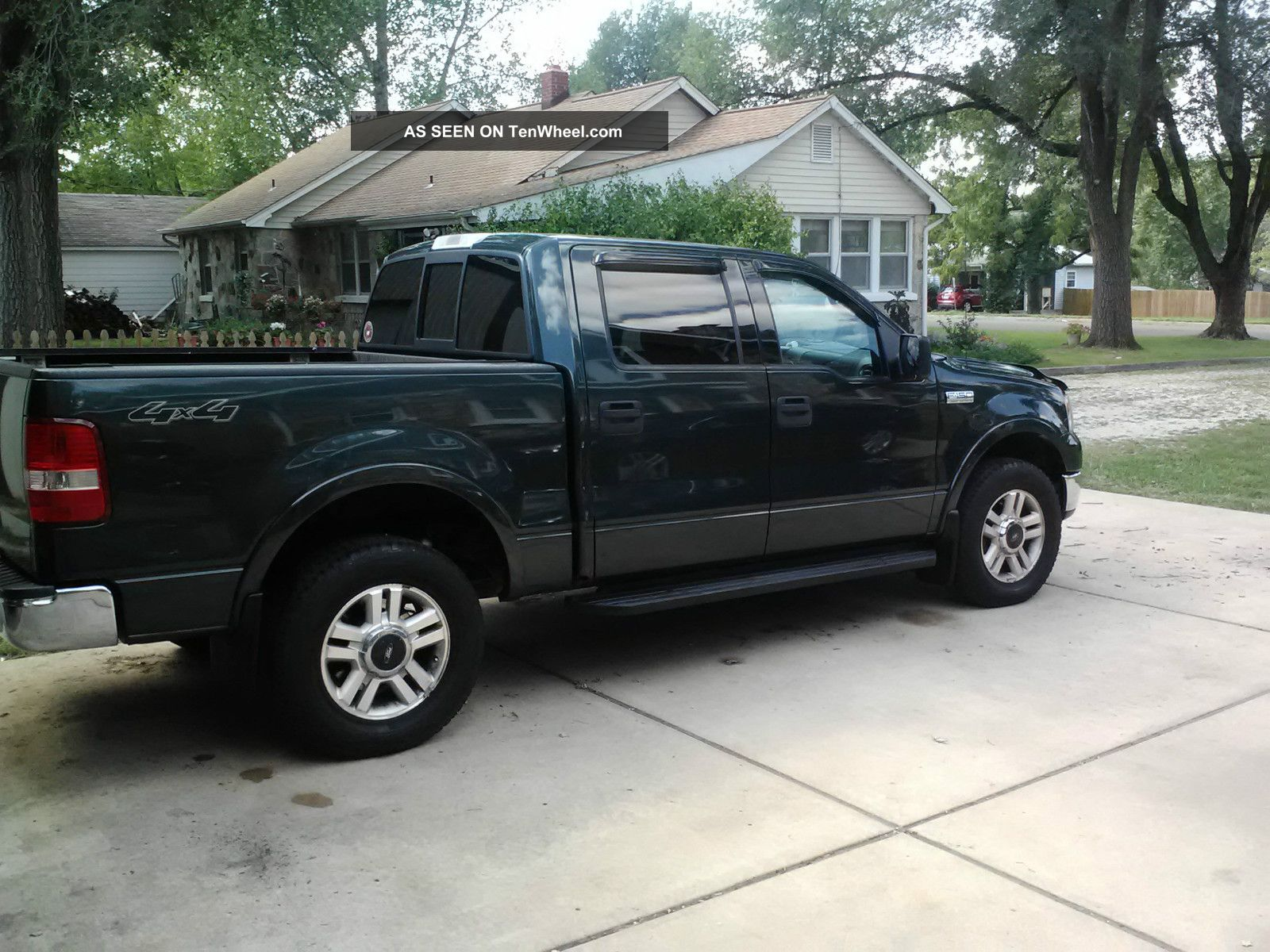 2004 ford f 150 lariat extended cab pickup 4 door 5 4l