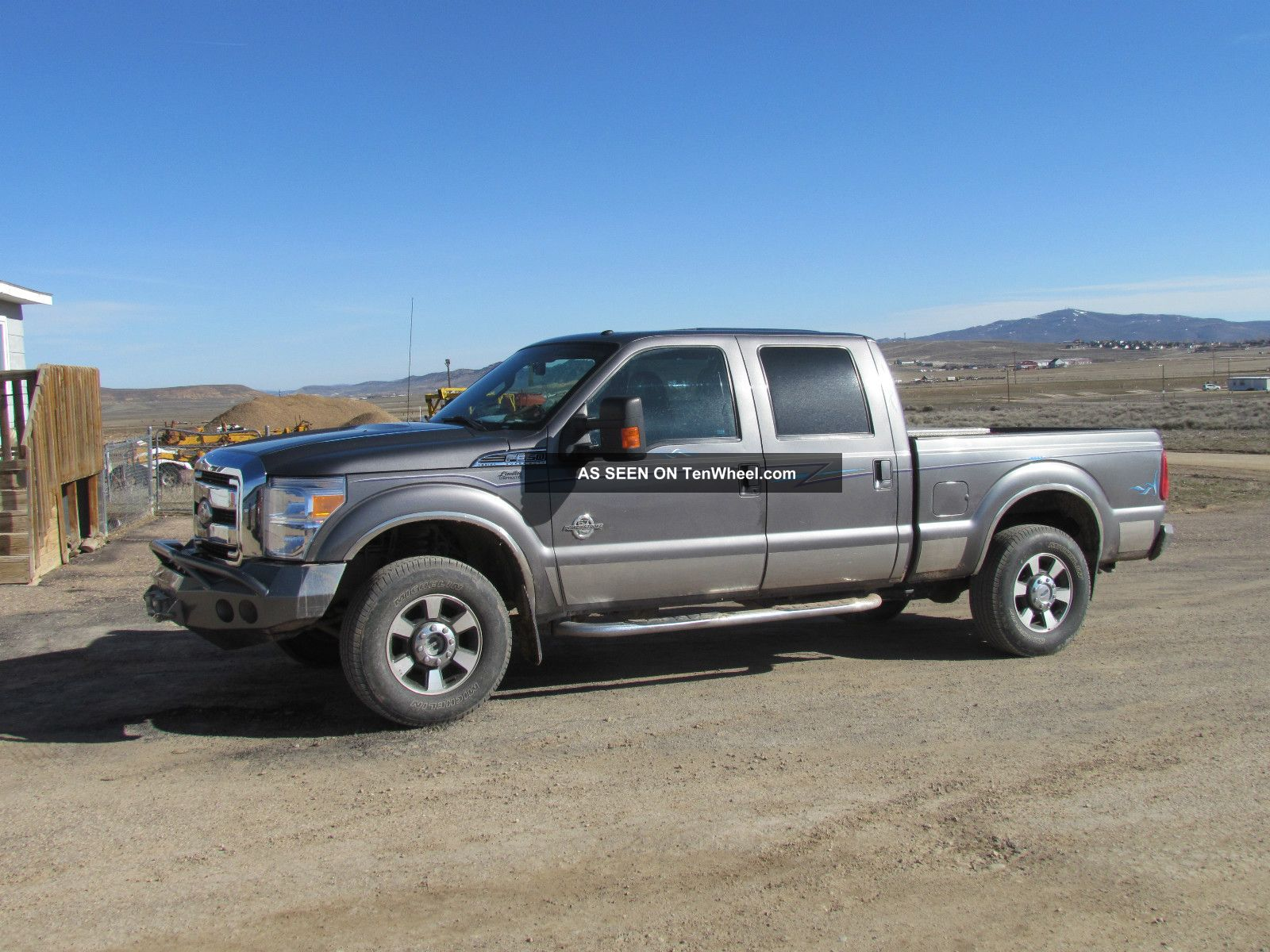 2011 Ford F350 Lrt,  Four Door,  Fully Loaded,  Top Of The Line,  Gray / Gray, F-350 photo