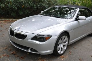 2006 Bmw 650i Sport Convertible 2 - Door 4.  8l photo