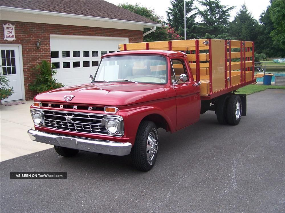 1966 Ford Hot Rod Pick Up Truck