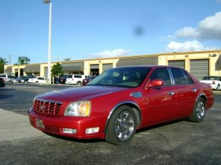 2002 Cadillac Deville Dts Sedan 4 - Door 4.  6l photo