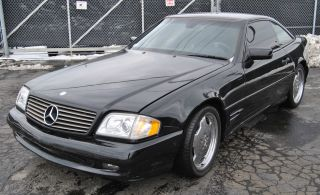 1997 Mercedes - Benz Sl - 500 Convertible Luxury Sport Car - Black photo