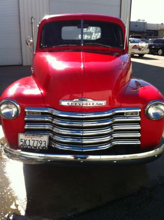 1949 Chevrolet Thriftmaster Red Pickup - It ' S Ready For Car Shows photo