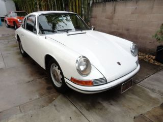 1966 Porsche 912 - - California Born And Raised - - Black Plate photo