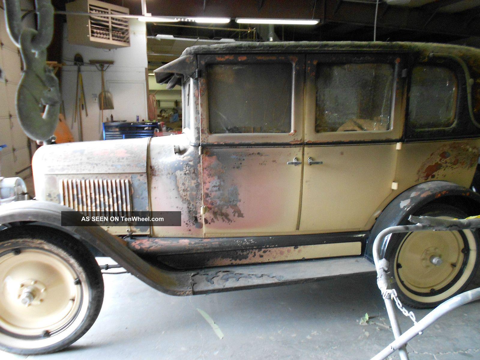 1926 Chevrolet Landau Sedan Project Car Other photo