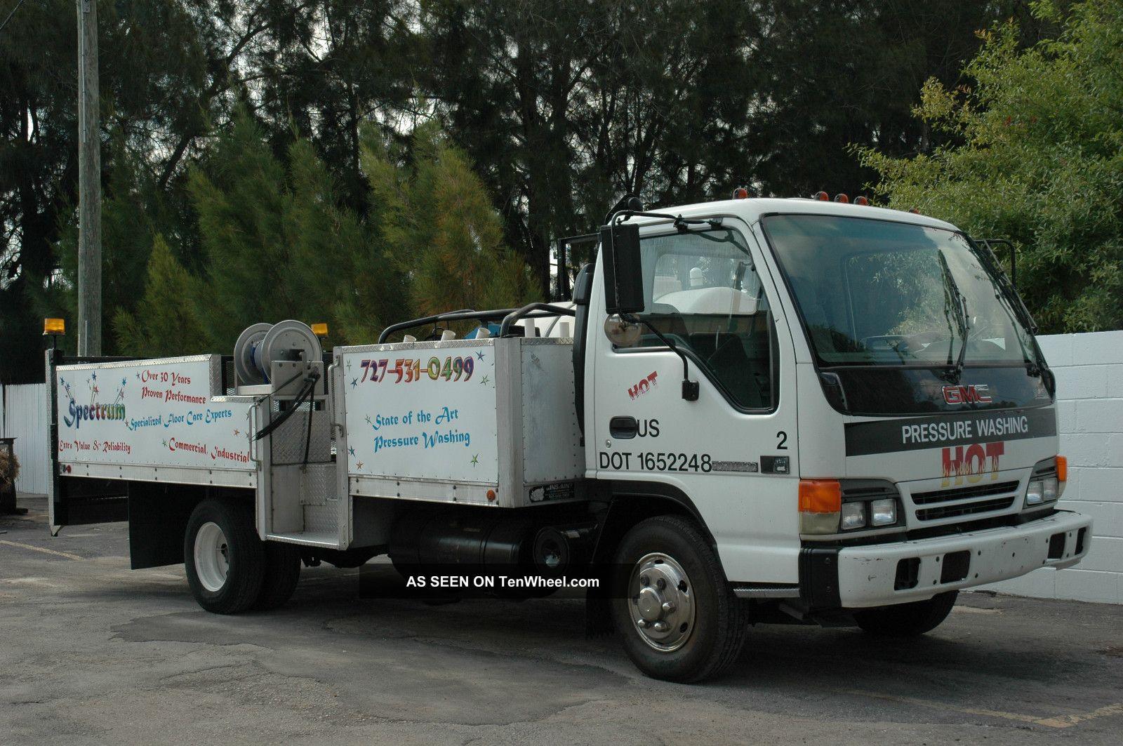 Gmc Isuzu Diesel Heavy Duty Truck Water Tank Hot Pressure Wash Fertizlier Lgw