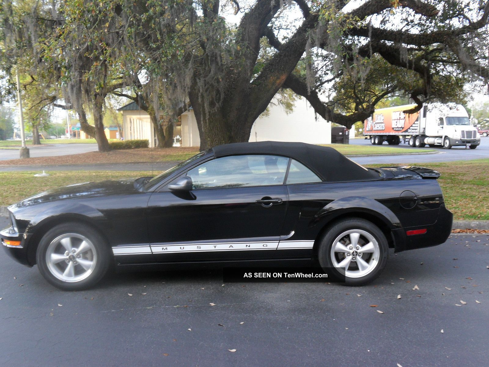 2008 Mustang Convertible With