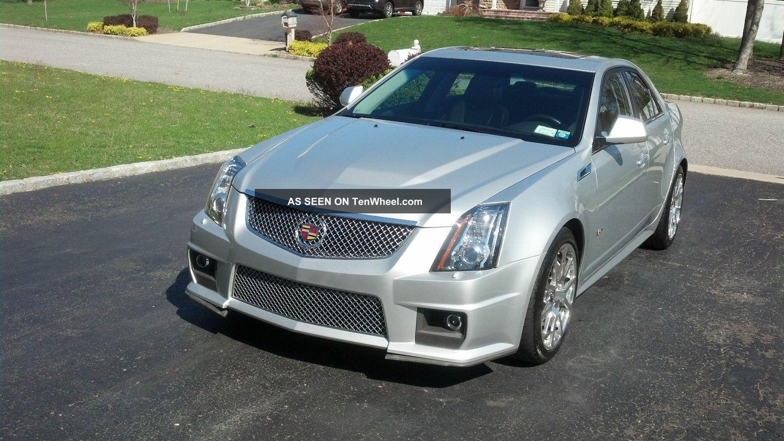 2011 Cadillac Cts V Sedan 4 - Door 6.  2l CTS photo