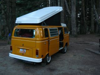 1977 Volkswagen Westfalia Camper Bus. . .  Ready To Tour When You Are photo