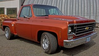 1978 Chevy Pick - Up (step Side) - $10500 photo