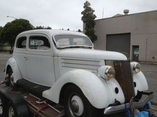 1936 Ford 2 Door Sedan Solid California Car Hot Rod photo