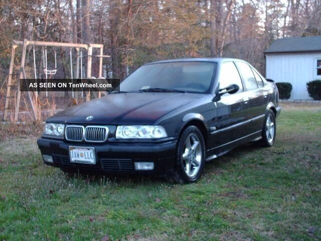 1995 Bmw 325i Black Sedan 4 - Door 3-Series photo