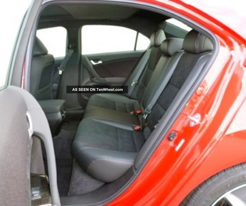 2012 Acura Tsx Special Edition Sedan 4