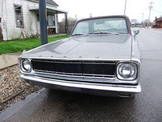 1966 Dodge Dart Gt 4 Speed 273 Car Orig Now With Slant Six photo