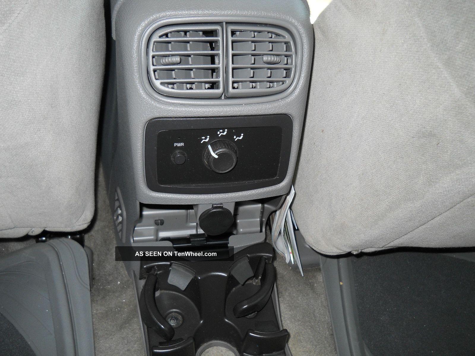 Trailblazer 2006 Interior 2006 Chevrolet Trailblazer ls