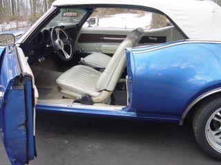 1969 Oldsmobile Cutlass Convertible Hot Blue photo