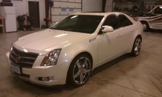 2008 Cts Diamond White Paint photo