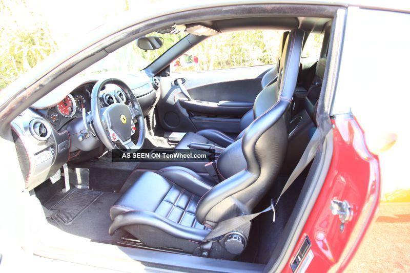 2005 Ferrari F430 Red Shields Carbon Ceramic Calipers