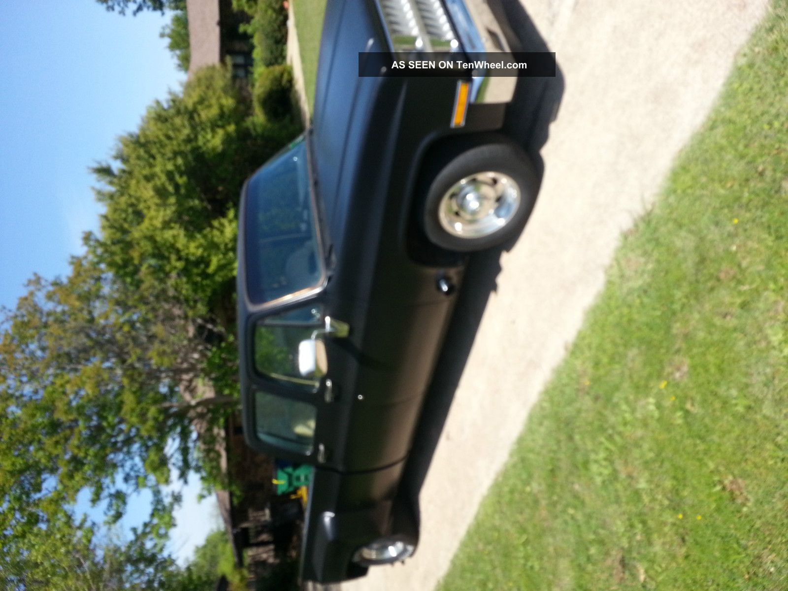 1982 Chevy Dually (phantom 3 / 4 Ton) Daily Driver Show Truck Custom Hauler Etc C-10 photo