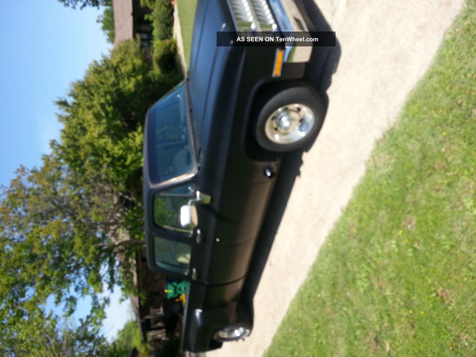 1982 Chevy Dually (phantom 3 / 4 Ton) Daily Driver Show Truck Custom Hauler Etc C-10 photo